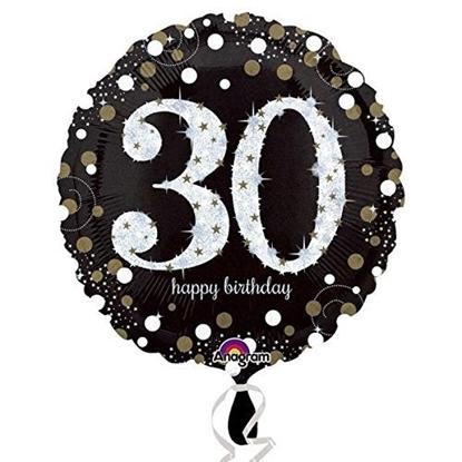"""Bild von GLOBO """" 30  HAPPY BIRTHDAY """""""